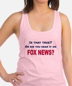 Fox News Racerback Tank Top