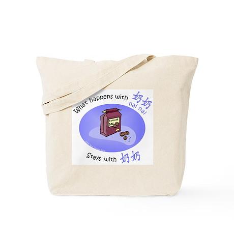 What Happens With Nai Nai... Tote Bag