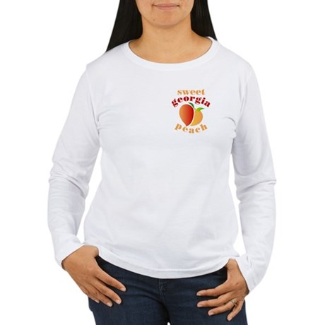 Sweet Georgia Peach Women's Long Sleeve T-Shirt