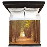 Country path King Duvet Covers