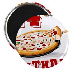 14th Birthday Pizza Party Magnet