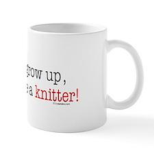... a knitter Mug