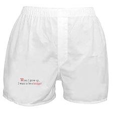 ... a knitter Boxer Shorts