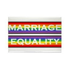 Marriage Equality Rectangle Magnet Magnets