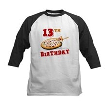 13th Birthday Pizza party Tee