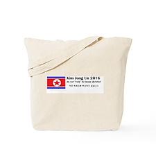Kim Jong Un 2016 Tote Bag