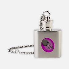 Alien Fetus Flask Necklace