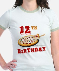 12th Birthday Pizza Party T