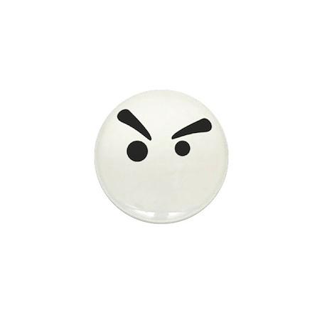 Grump Mini Button