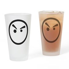 Grump Drinking Glass