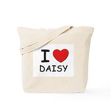 I love Daisy Tote Bag