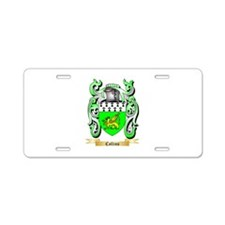 Collins Aluminum License Plate