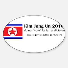 Kim Jong Un 2016 Decal