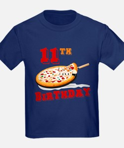 11th Birthday Pizza Party T