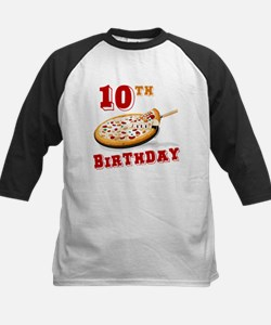 10th Birthday Pizza Party Tee