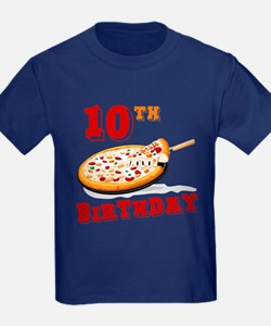 10th Birthday Pizza Party T