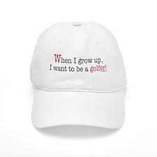 ... a golfer Baseball Cap