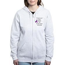 Cute Lupus Zip Hoodie