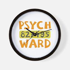 Psych Ward Inmate Wall Clock