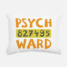 Psych Ward Inmate Rectangular Canvas Pillow