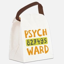 Psych Ward Inmate Canvas Lunch Bag