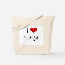I love Sunlight Tote Bag