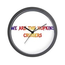 We are the Hopkins Cruisers!! Wall Clock