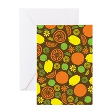 A Splash of Citrus Greeting Card