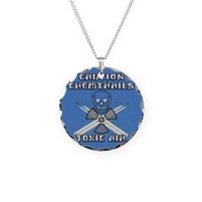 Caution Chemtrails - Toxic Air Necklace