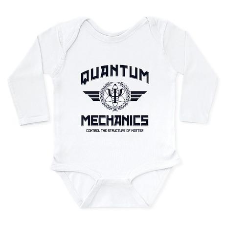 QUANTUM MECHANICS Long Sleeve Infant Bodysuit