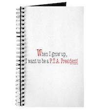 ... a PTA President Journal