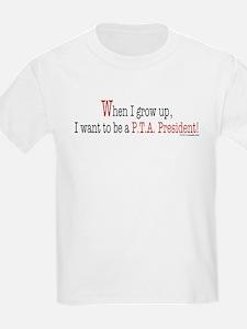 ... a PTA President Kids T-Shirt