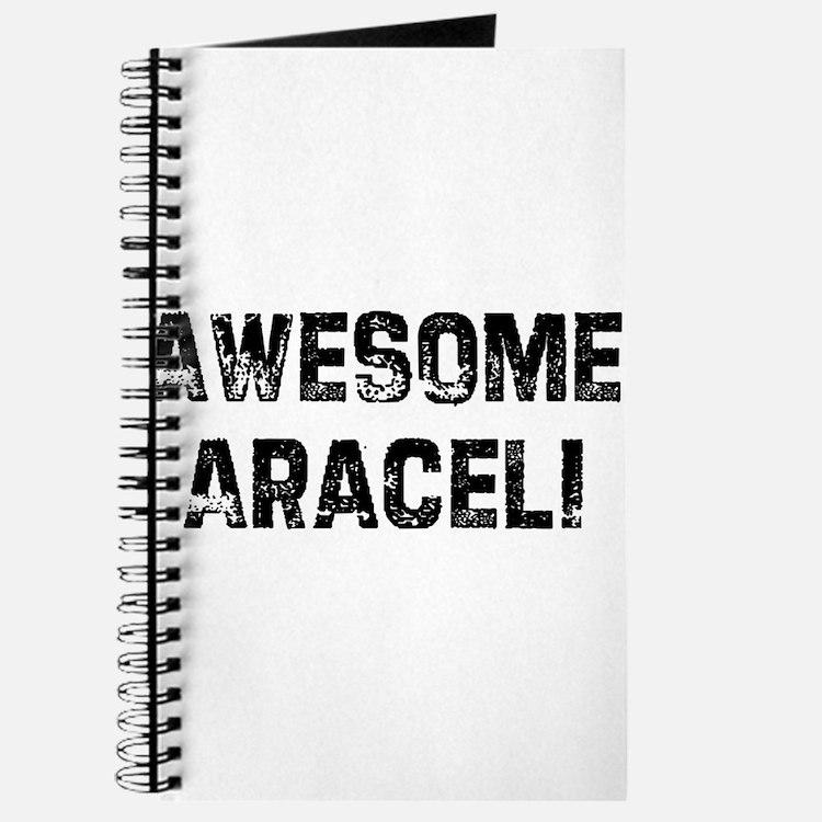 Awesome Araceli Journal