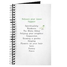 RELEASE YOUR INNER HIPPIE Journal