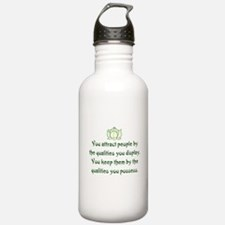THE QUALITIES YOU POSSESS Water Bottle