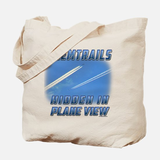 Chemtrails - Hidden in Plane View Tote Bag