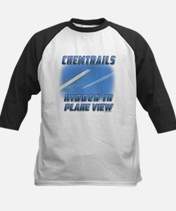 Chemtrails - Hidden in Plane View Baseball Jersey