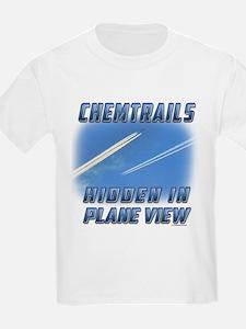 Chemtrails - Hidden in Plane View T-Shirt