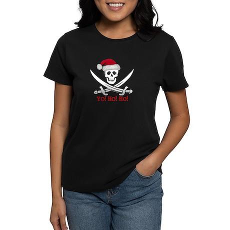 Yo! Ho! Ho! (S) Women's Dark T-Shirt