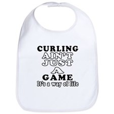 Curling ain't just a game Bib