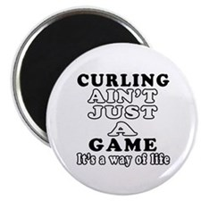 Curling ain't just a game Magnet
