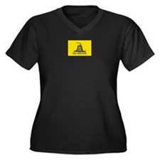 Gadsden Don't Tread On Me Plus Size T-Shirt