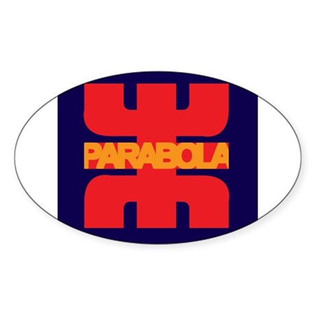 Parabola Sticker