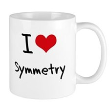 I love Symmetry Small Mug