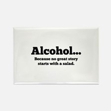 Alcohol Rectangle Magnet