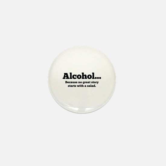 Alcohol Mini Button