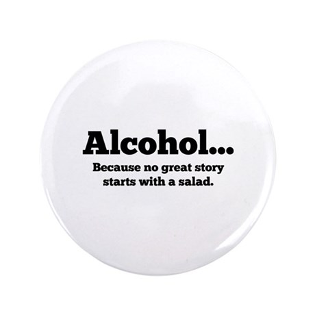 """Alcohol 3.5"""" Button (100 pack)"""