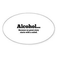 Alcohol Decal
