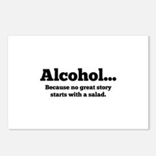 Alcohol Postcards (Package of 8)