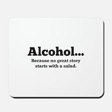 Alcohol Mousepad
